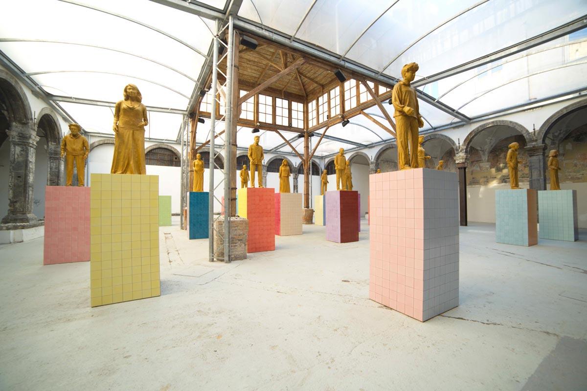 LIU JIANHUA / MONUMENTI / Fondazione Made in Cloister / Napoli 2019