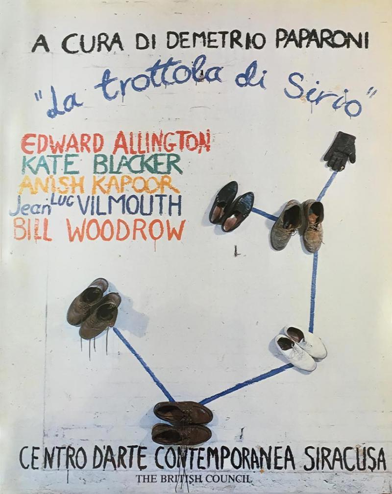 LA TROTTOLA DI SIRIO / Centro d'Arte Contemporanea /Siracusa / 1983