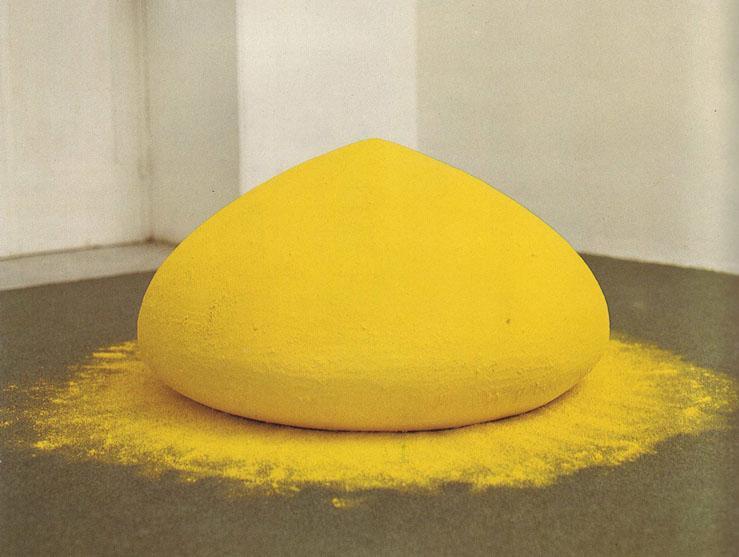 A TROTTOLA DI SIRIO / Centro d'Arte Contemporanea /Siracusa 1983 / Kapoor / Woodrow / Vilmouth ...