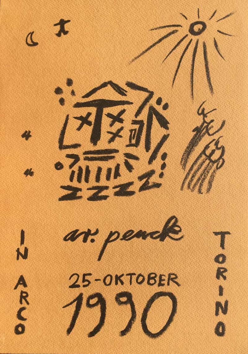 A.R.PENCK / Galleria In Arco / Torino 1990