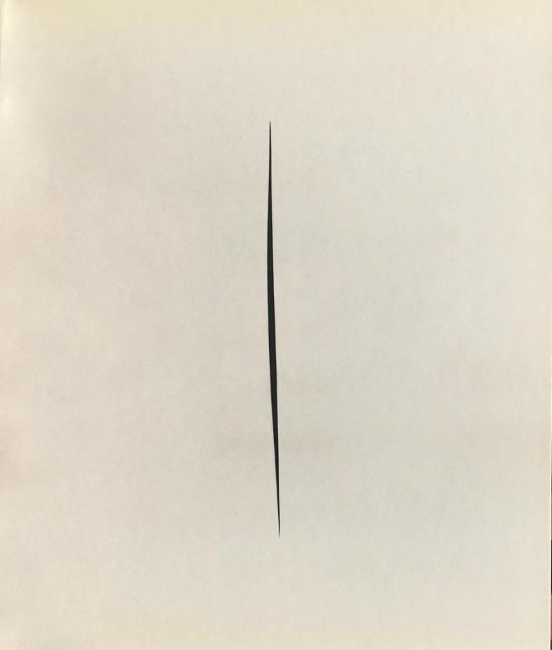 LUCIO FONTANA / Opere su carta 1946-1967 / Galleria In Arco / Torino 1990