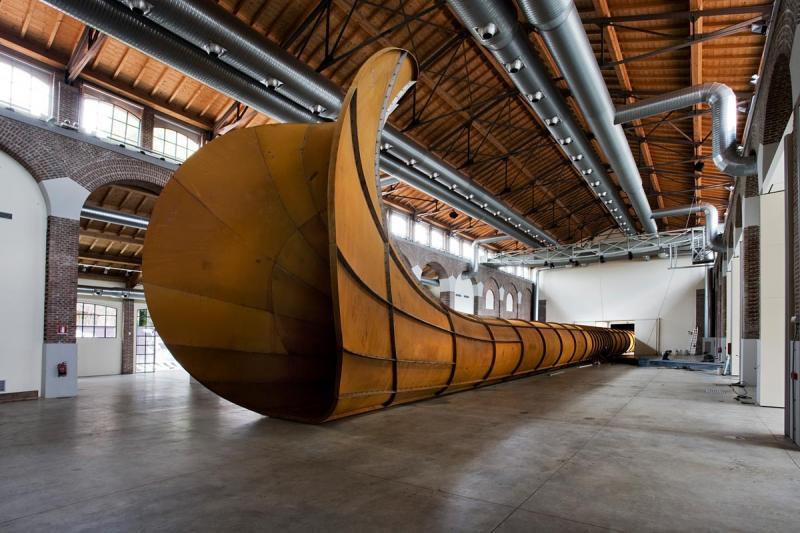 ANISH KAPOOR / DIRTY CORNER /  Fabbrica del Vapore e Rotonda di via Besana / Milano 2011